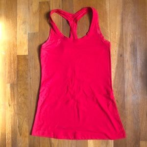 "Cool Racerback || ""True Red"""